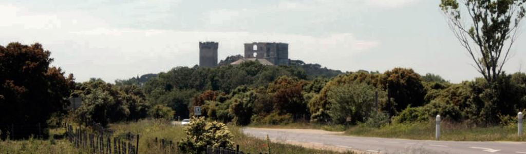 Abadia de Montmajour, perto de Arles, França