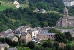 Passeio em Saint-Nectaire, na Auvergne, França