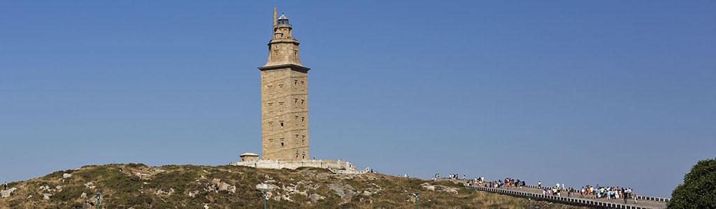 A torre de Hércules, o mais antigo farol do mundo