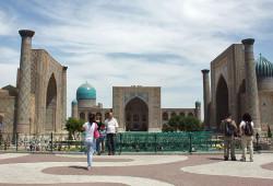 O Registan de Samarcanda - Uzbequistão